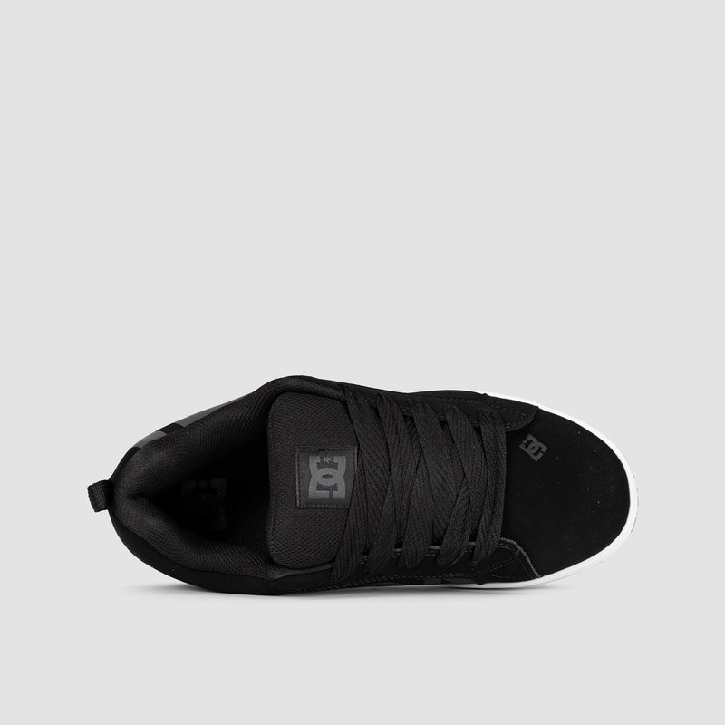 DC Court Graffik SE Black/Grey/Black