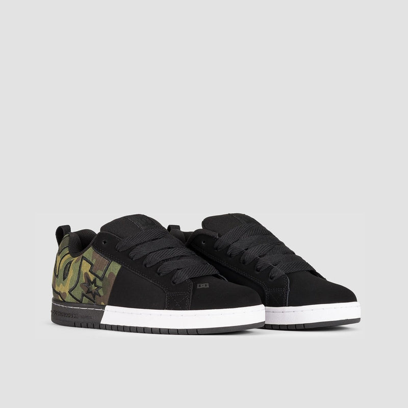 DC Court Graffik SQ Black/Camo - Footwear