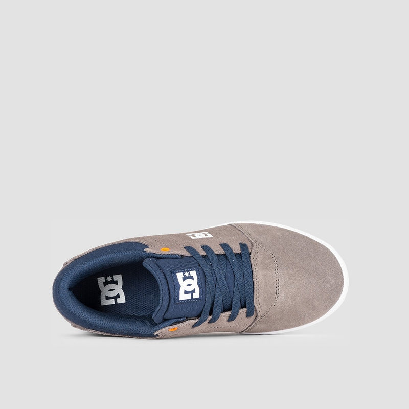 DC Crisis Grey/Dark Navy - Kids - Footwear