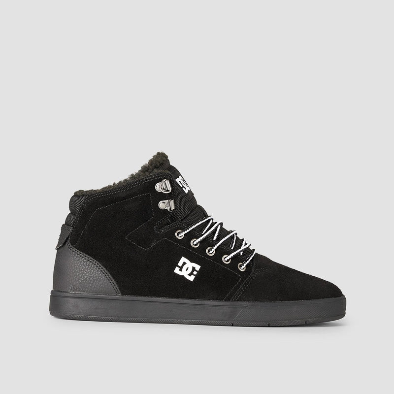 DC Crisis High WNT Black/White/Black - Footwear
