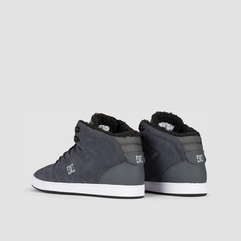 DC Crisis High WNT Charcoal Grey - Footwear