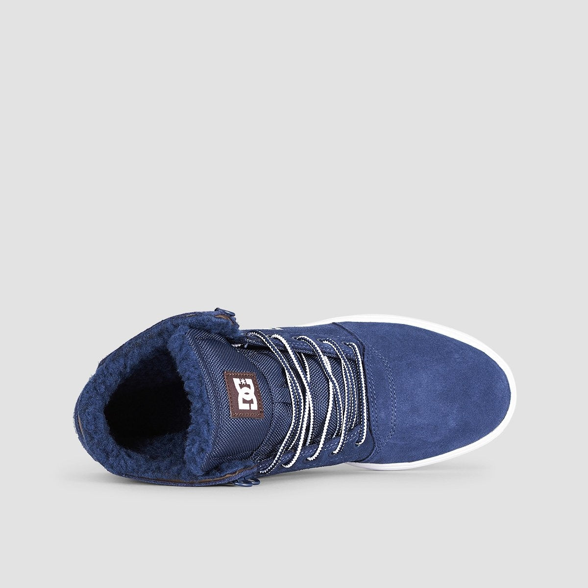 DC Crisis High WNT Navy/Khaki - Footwear