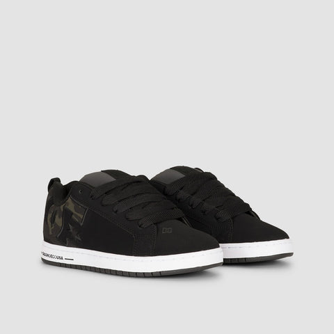 DC CT Graffik SE Black Camo - Footwear