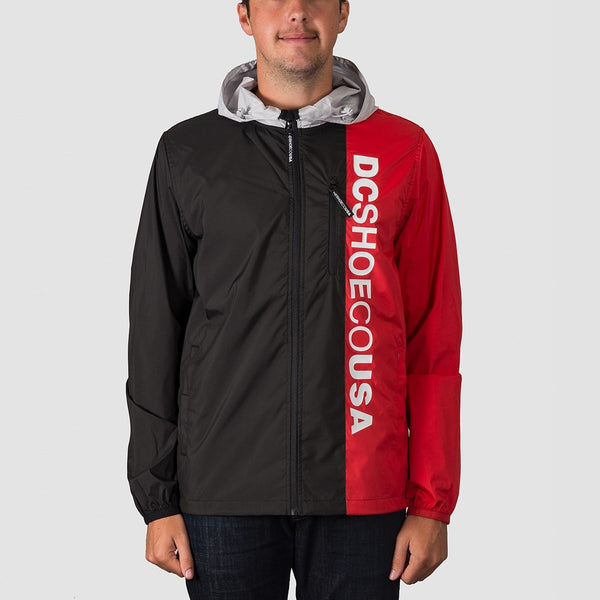 DC Dagup Triple Block Jacket Glacier Grey - Clothing