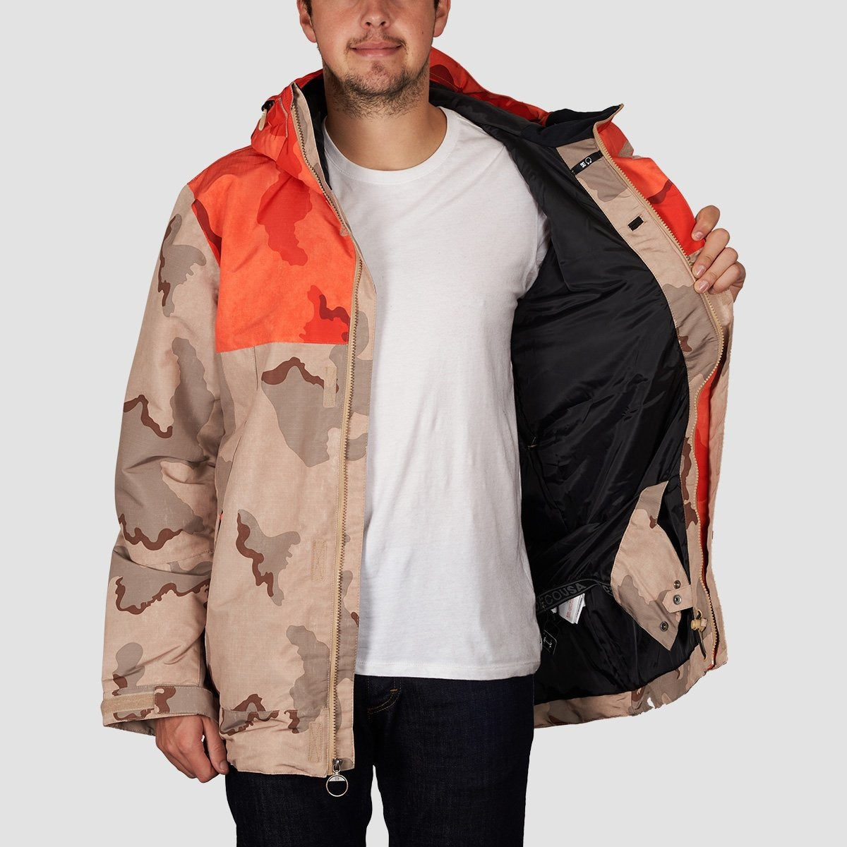 DC Defy Snow Jacket Incense Dcu Camo Men - Snowboard