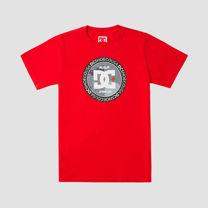DC Divide And Conquer Tee Racing Red - Kids