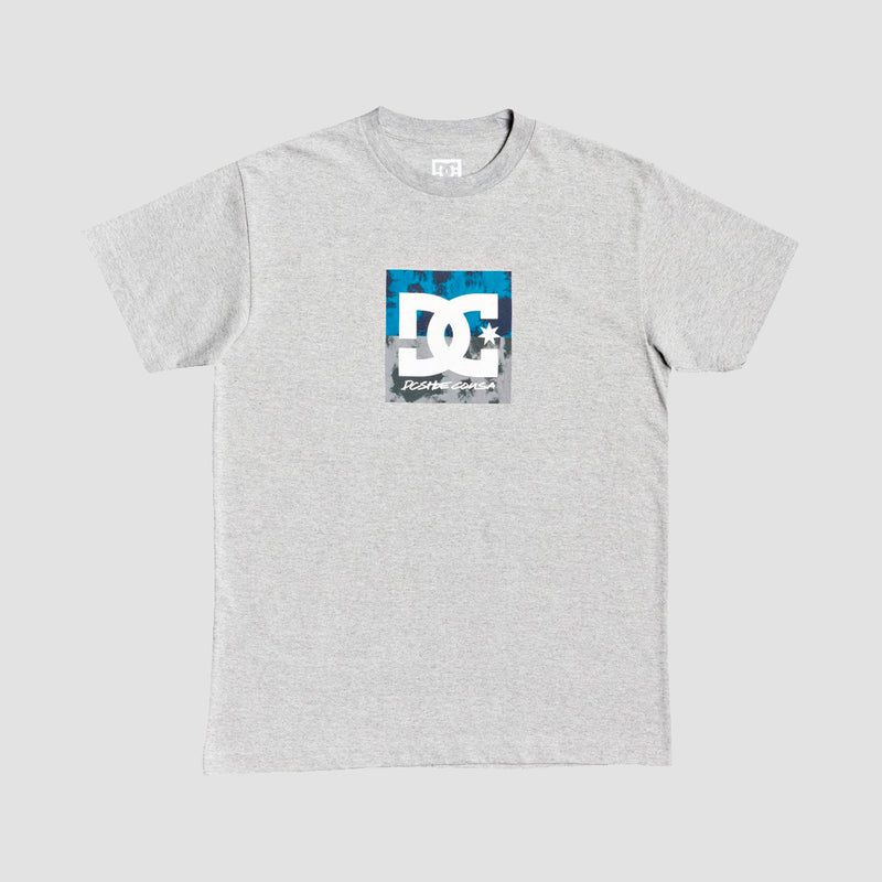 DC Double Down Tee Heather Grey