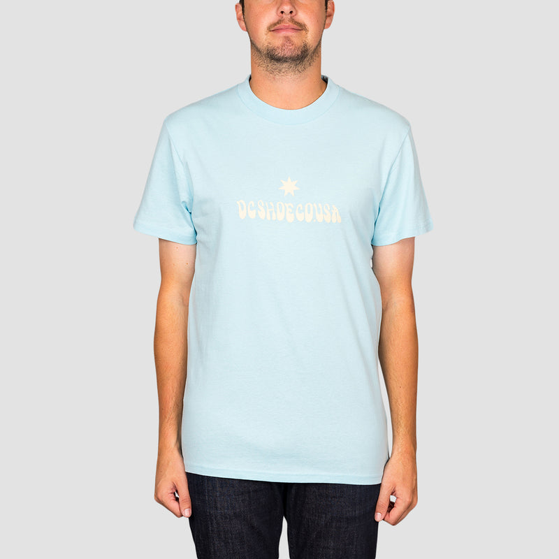 DC Double Platinum Tee Crystal Blue