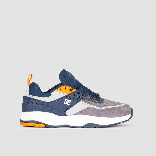 DC E.Tribeka Grey/Dark Navy - Kids - Footwear