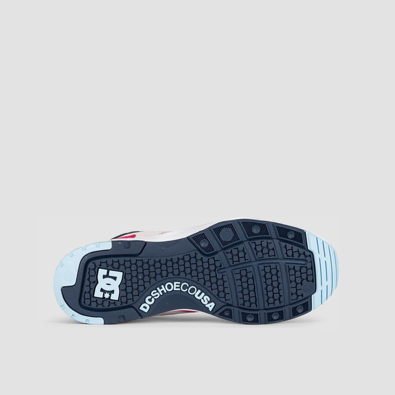 DC E.Tribeka SE Blue/White/Blue - Footwear