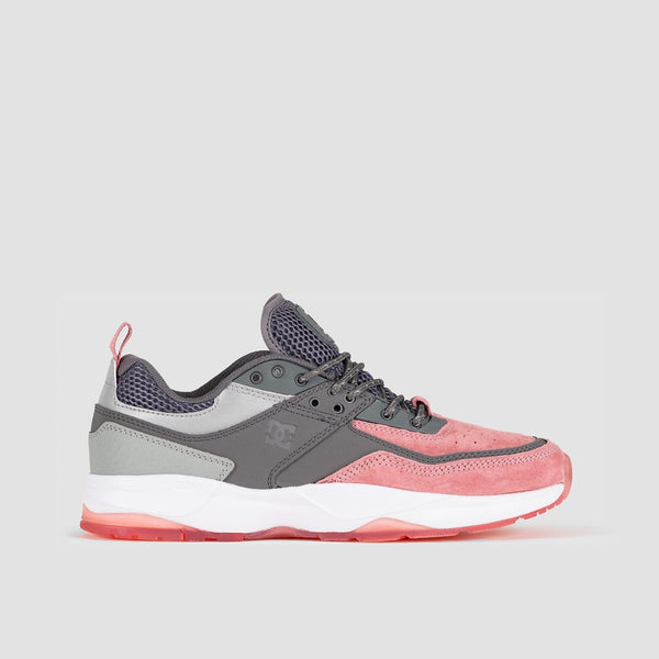 DC E.Tribeka SE Grey/Grey/Red - Footwear