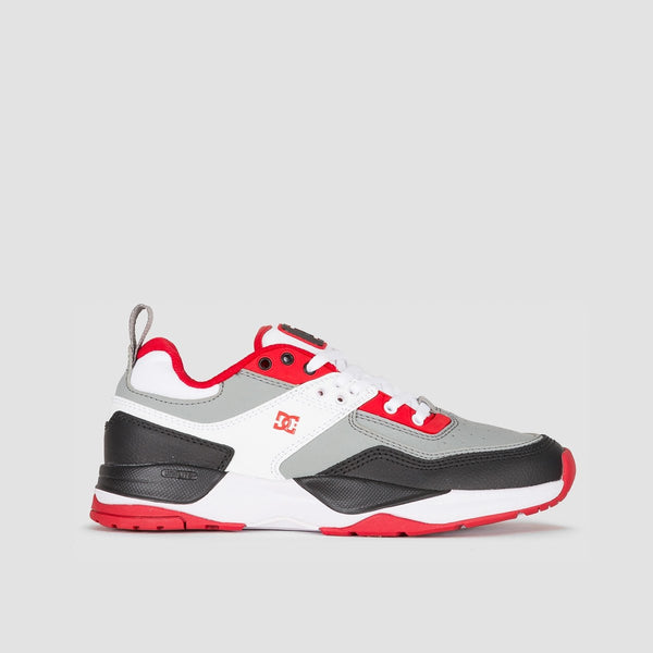 DC E.Tribeka White/Grey/Red - Kids - Footwear