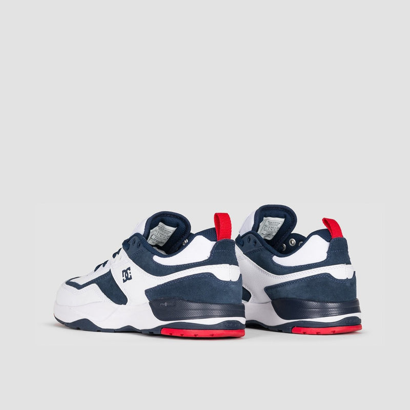 DC E.Tribeka White/Red/Blue - Footwear