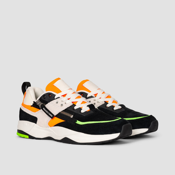 DC E.Tribeka Zip Fluorescent Green/White - Kids