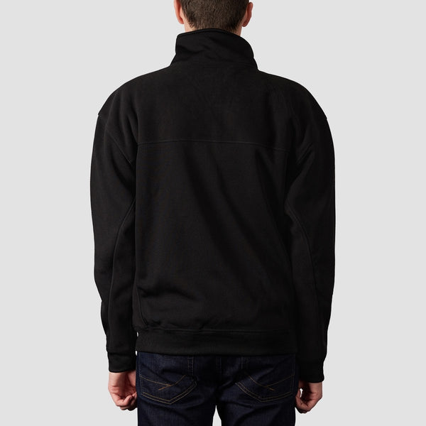 DC Eaglemount Zip Up Mock Neck Sweat Black - Clothing