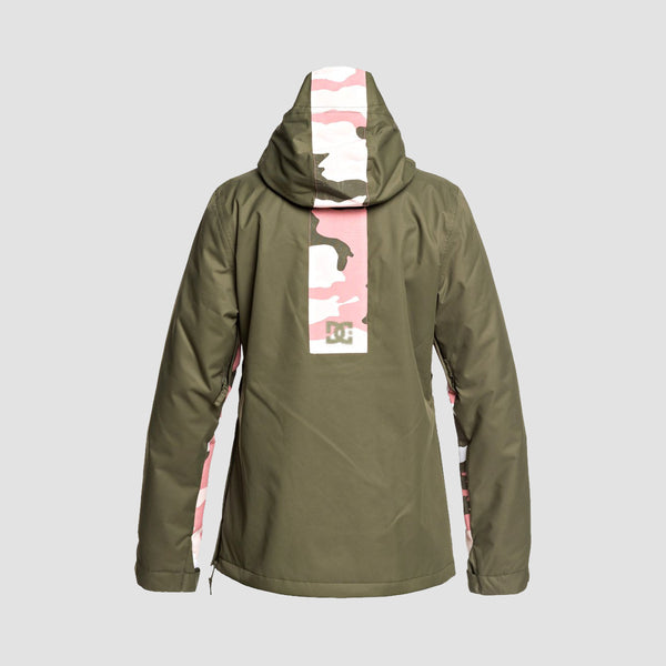 DC Envy Snow Jacket Olive Night - Womens