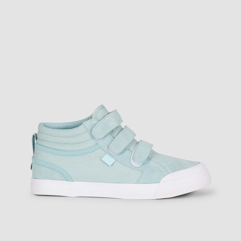 DC Evan Hi V Light Blue - Kids - Footwear