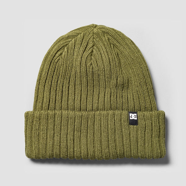DC Fish N Destroy Beanie Fatigue Green - Accessories