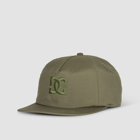 DC Floora Snapback Cap Fatigue Green