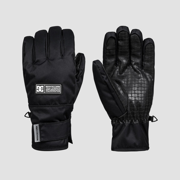 DC Franchise 8-16 Years Snow Gloves Black - Kids