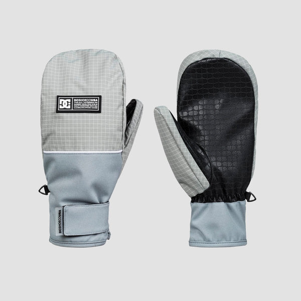 DC Franchise SE Snow Mittens Neutral Grey - Snowboard
