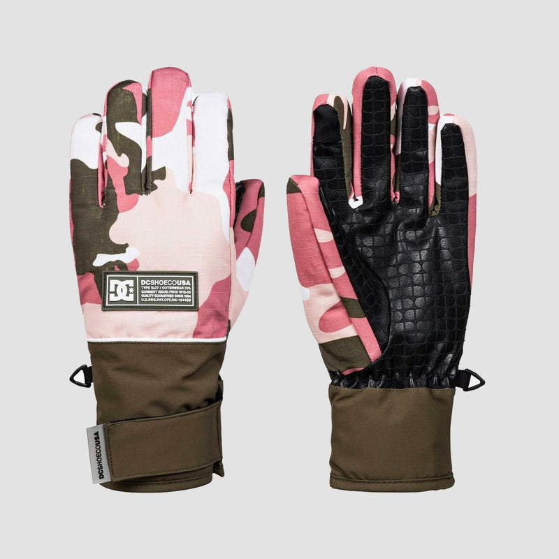 DC Franchise Snow Gloves Vintage Camo - Womens - Snowboard