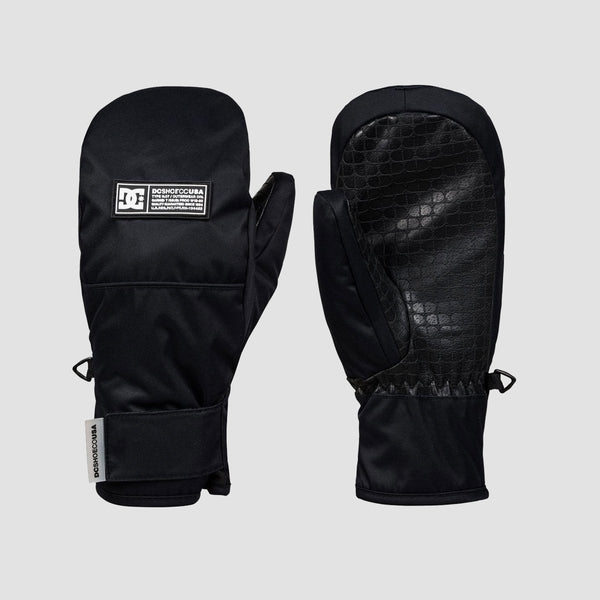 DC Franchise Snow Mittens Black - Kids - Snowboard