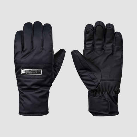 DC Franchise Snowboard Gloves Black