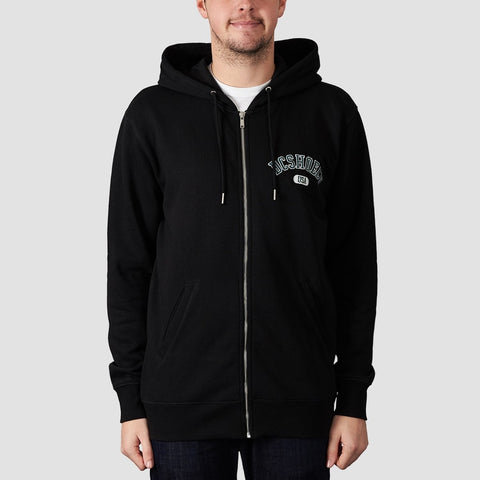 DC Glenridge Zip Hood Black