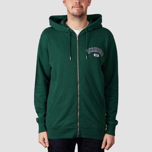 DC Glenridge Zip Hood Hunter Green - Clothing