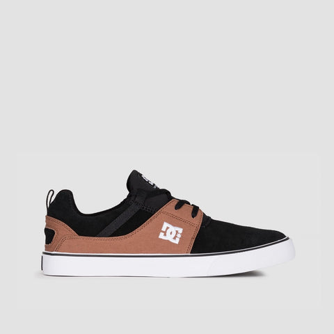 DC Heathrow Vulc Black/Brown/Black