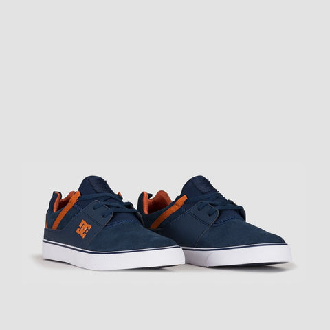 DC Heathrow Vulc Indigo - Footwear
