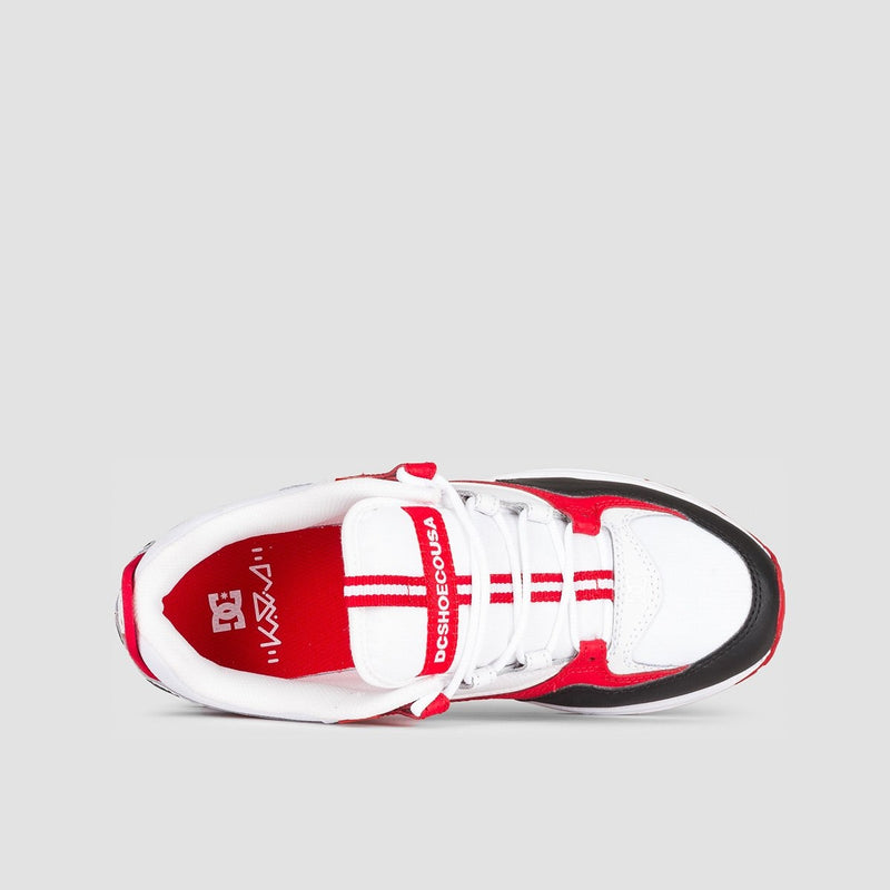 DC Kalis Lite Black/White/Red - Footwear