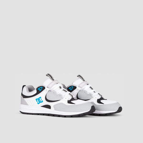 DC Kalis Lite Grey/Blue/White - Kids - Footwear