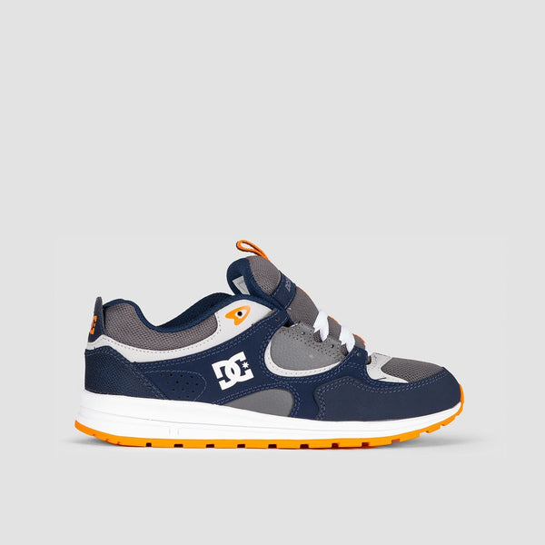 DC Kalis Lite Navy/Grey - Kids - Footwear