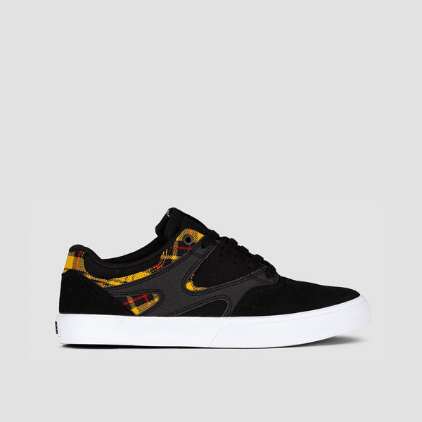 DC Kalis Vulc SE Black Plaid