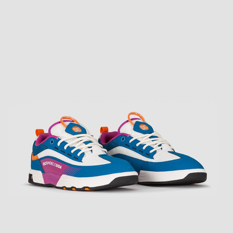 DC Legacy 98 Slim Blue/Blue/White - Footwear