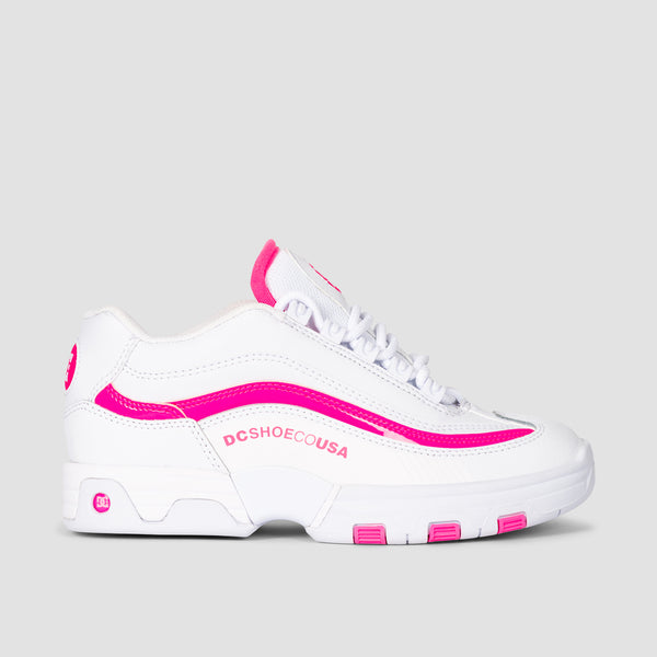 DC Legacy Lite White/Hot Pink - Womens