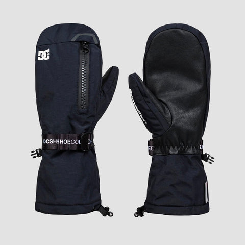 DC Legion Snow Mittens Black