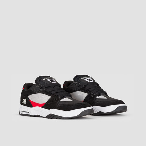 DC Maswell Grey/Black/Red - Footwear