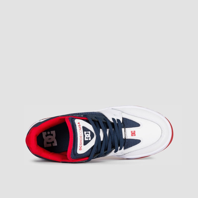 DC Maswell Navy/White - Footwear