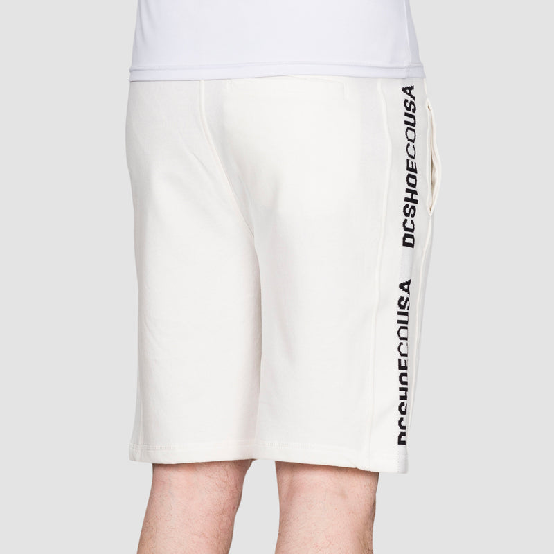 DC Middlegate Sweat Shorts White