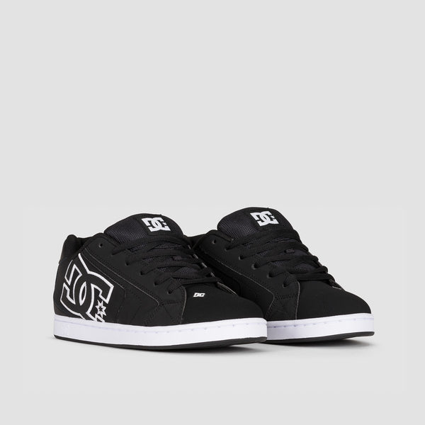 DC Net Black/Black/White - Footwear