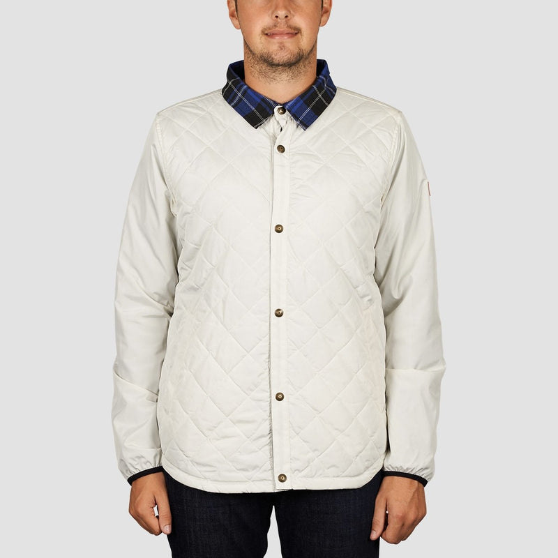DC Network Reversible Jacket Silver Birch - Clothing