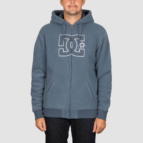 DC New Star Sherpa Zip Hood Bering Sea