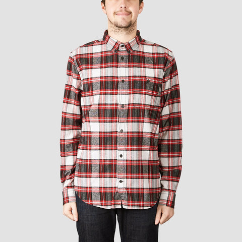 DC Northboat Long Sleeve Shirt Tango Red