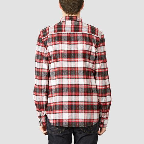 DC Northboat Long Sleeve Shirt Tango Red - Clothing