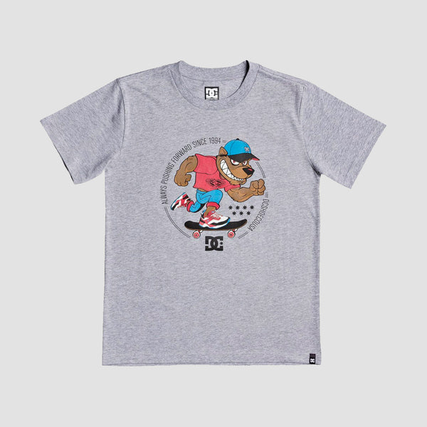 DC Pitbowl Tee Grey Heather - Kids