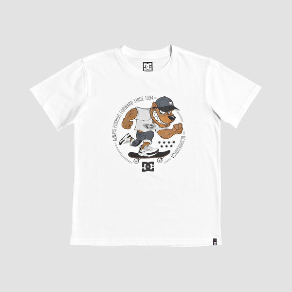 DC Pitbowl Tee White - Kids