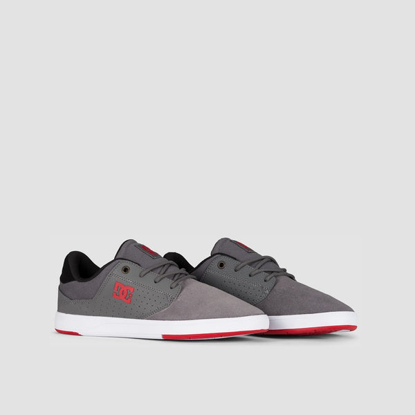 DC Plaza TC Grey/Grey/Red - Footwear